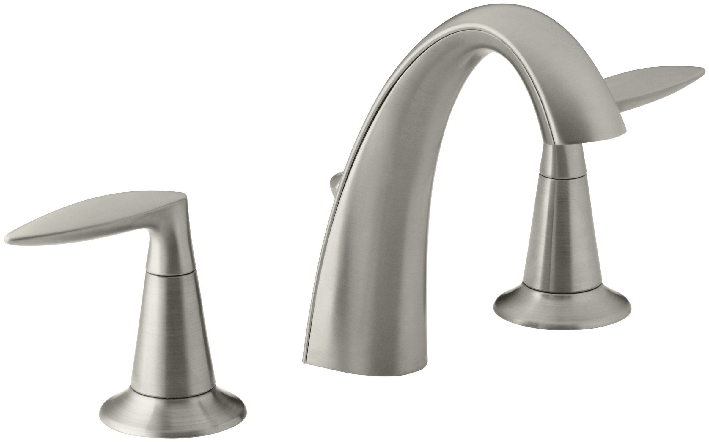 Kohler K451024Bn Alteo Widespread Lavatory Faucet Vibrant Mesmerizing Brushed Nickel Bathroom Faucets Review