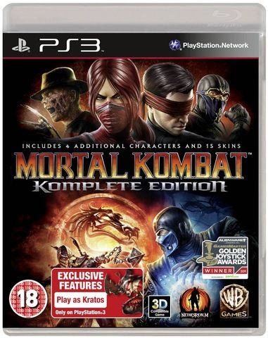 mortal kombat 9 komplete edition ps3 | Places to visit
