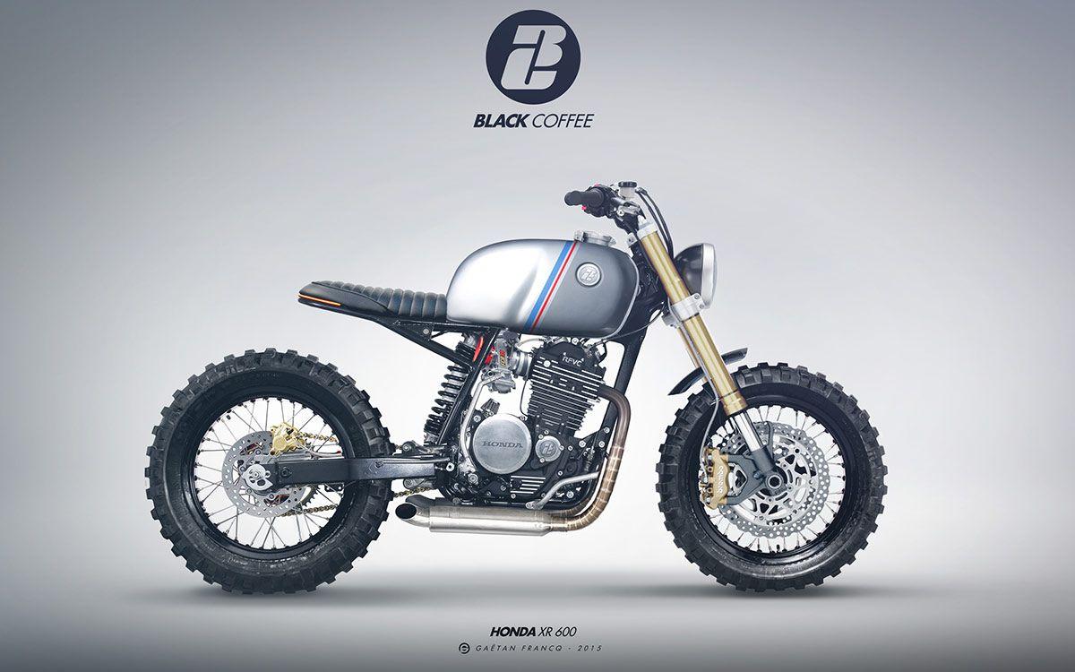 Honda Xr600 Scrambler From France Bikes Pinterest