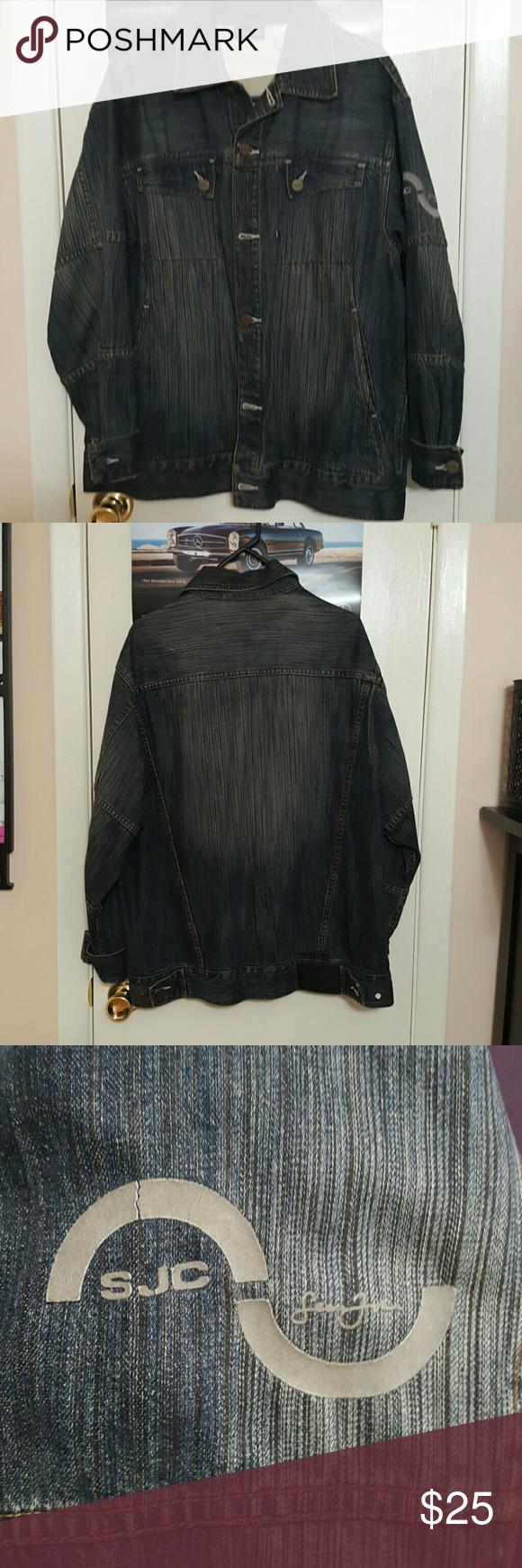 Sean John Jean Jacket Sean John Jeans Jean Jacket Clothes Design [ 1740 x 580 Pixel ]