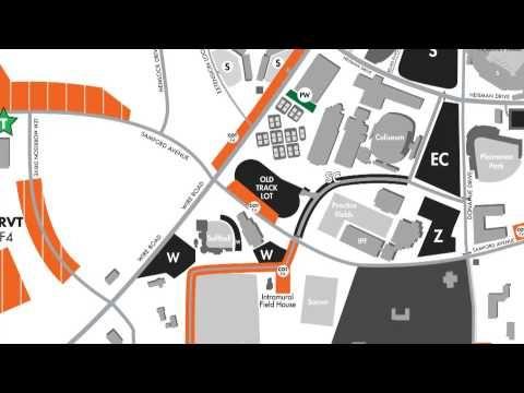 2013 Auburn Parking Tailgating Map War Eagle Auburn Auburn Football