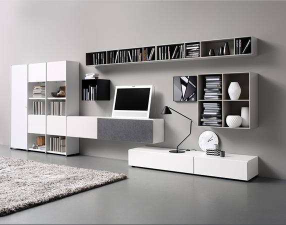 wall system boconcept lugano meda como. Black Bedroom Furniture Sets. Home Design Ideas