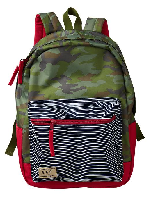 GAP Senior Nylon Backpack  dccbe3c6d4a50