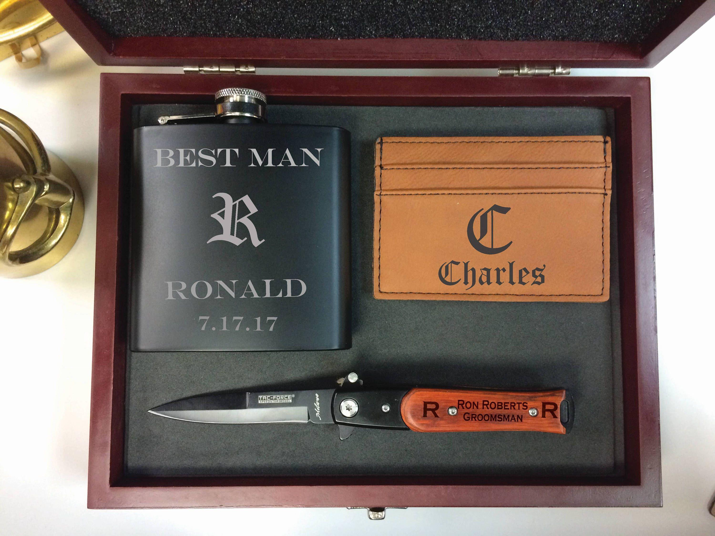 Groomsmen gift set groomsmen gift man gift personalized