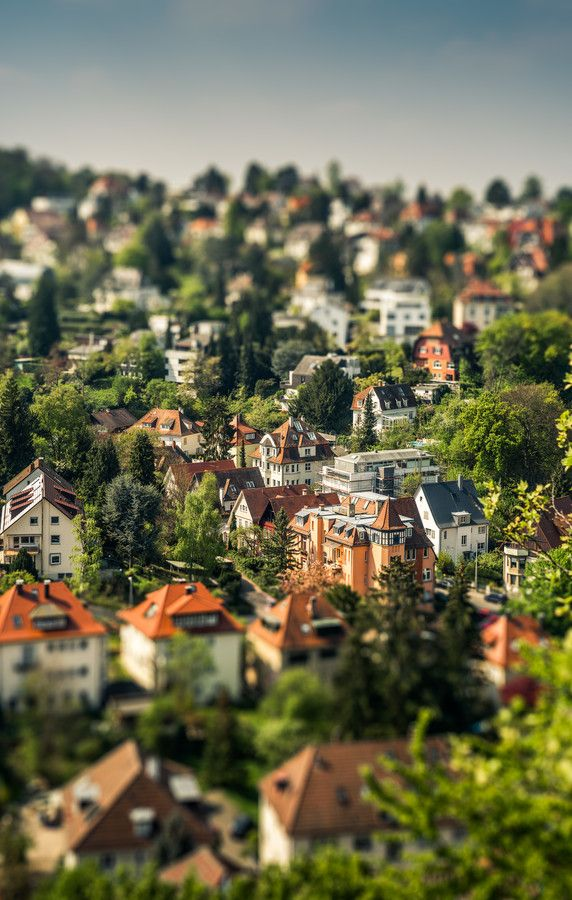 stuttgart tiltshifted by Wolfgang Simm on 500px
