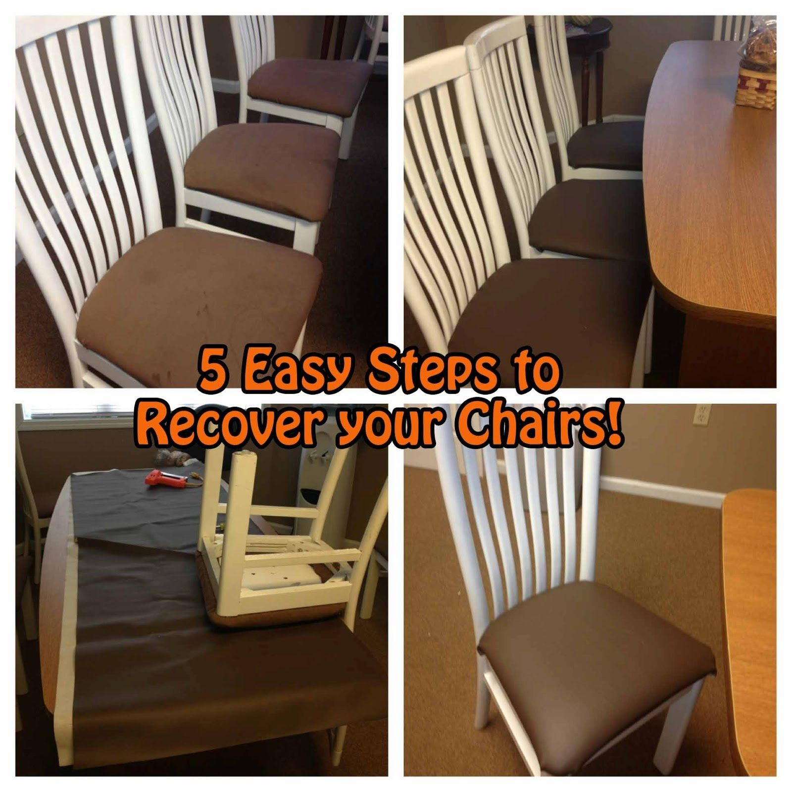 Make Dining Chair Seat Covers