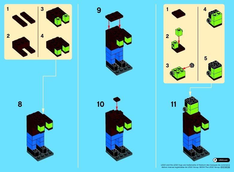 Promotional - Monthly Minibuild October [Lego 40104]