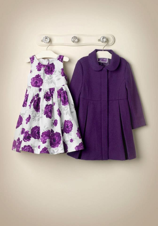 Janie and Jack C\'s dress and coat | bebes | Pinterest | Vestiditos ...