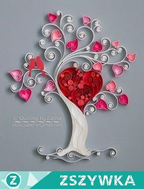 Drzewo Quilling Na Diy Quilling Zszywka Pl Paper Quilling Cards Paper Quilling Designs Quilling Paper Craft