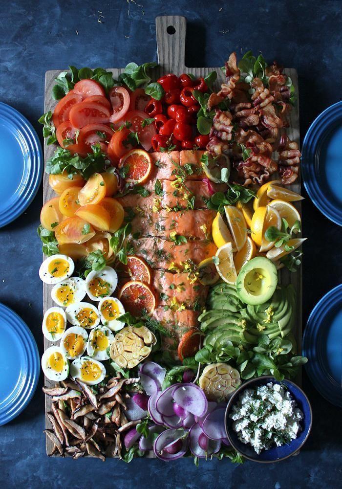 12 dekonstruierte Salatrezepte für die Perfektion des Mittagessens – Eine unscharfe Dame   – Healthy Appetizers