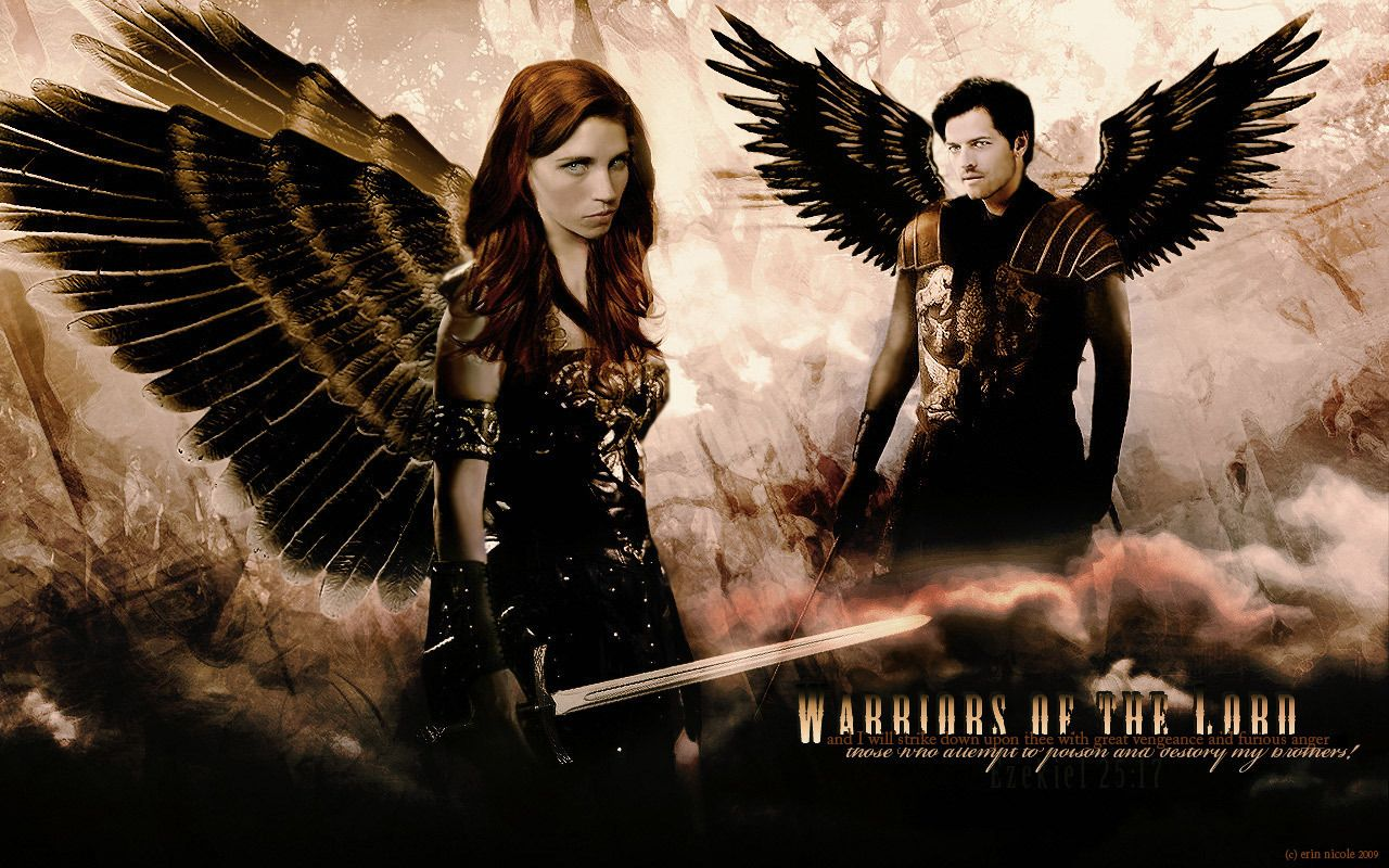 TV Show Supernatural Religious Wallpaper Thing Is In Heaven They Wouldnt Look Like This Would Be Their True Form