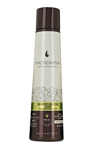 Macadamia Professional Weightless Moisture Shampoo Sheer Pecan 10 floz * Check out the image by visiting the link.-It is an affiliate link to Amazon.