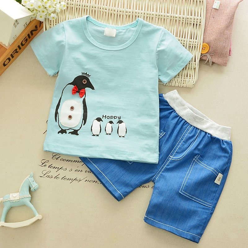 Find More Clothing Sets Information About Boys Summer Suit Children 1 2 3 Years Old Baby Boomers Sh Boys Summer Outfits Baby Boy Clothes Summer Baby Boy Summer