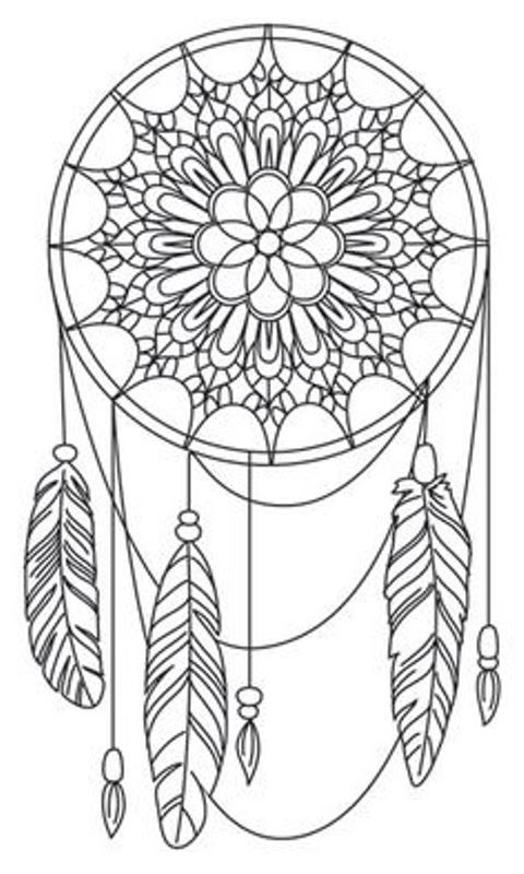 16 coloring pages of Dreamcatchers on Kids-n-Funuk On Kids-n - best of fun coloring pages for fall