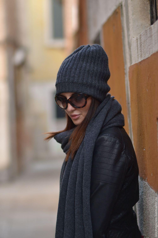Ручная работа, handmade | Вязаные шапки, Шапка, Вязаный шарф