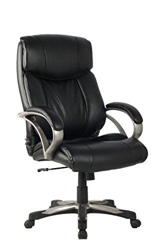 Viva High Back Ergonomic Leather Chair With Adjustable Lumbar