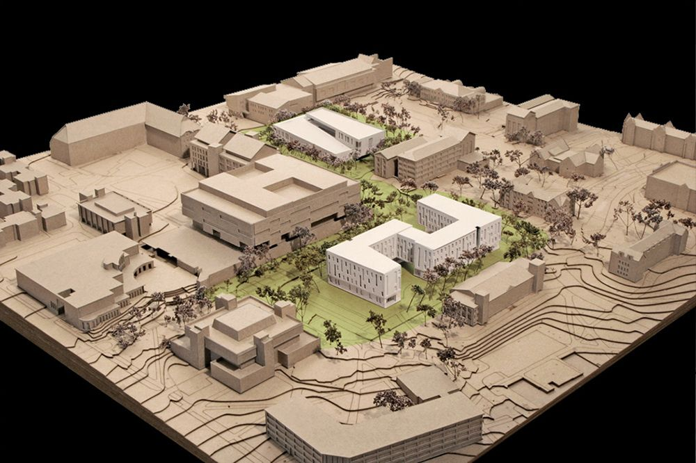 University of connecticut social sciences and classroom 3d model sites