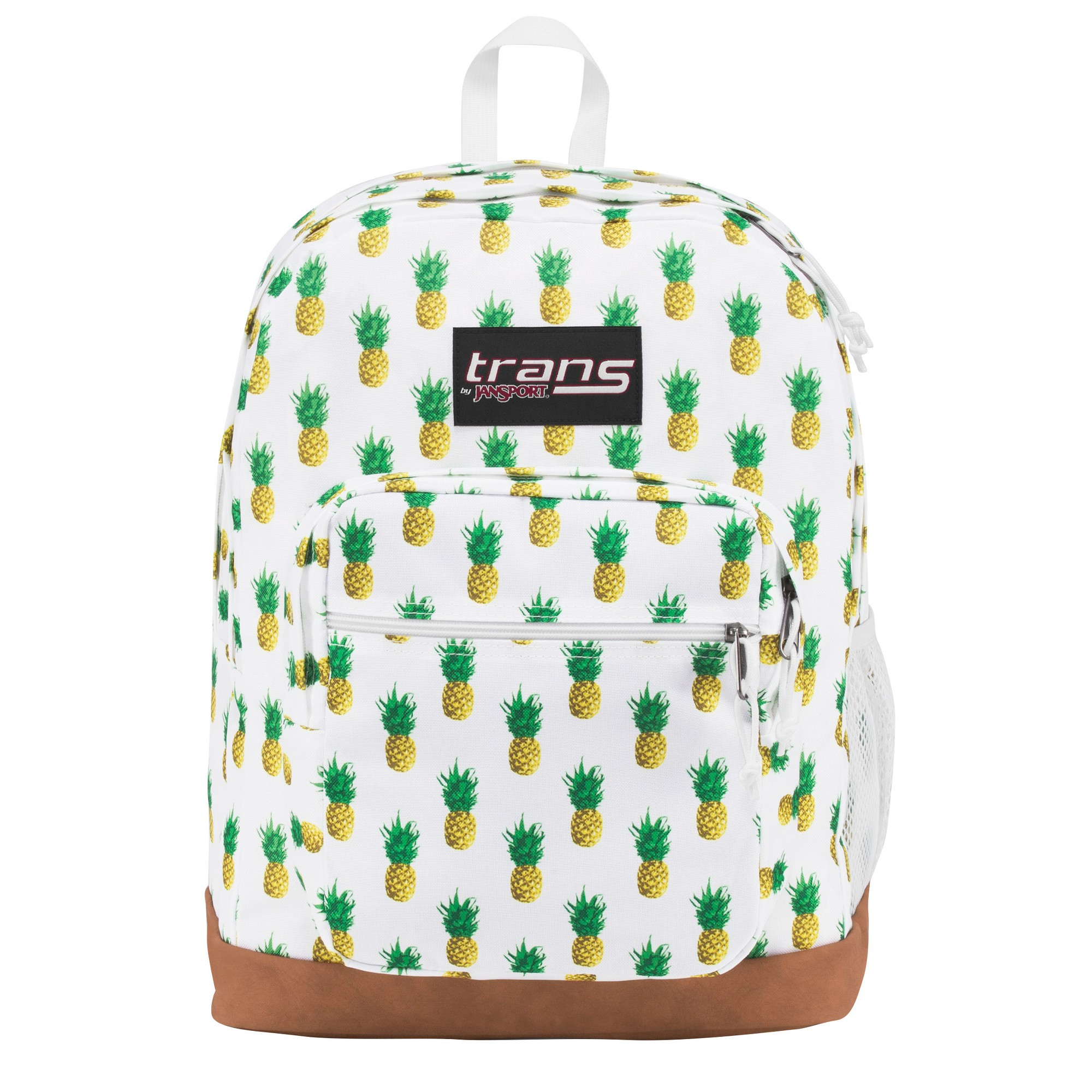 59feec0edf Trans by JanSport Super Cool 17 Tropic Gold Pineapple Print Backpack - White