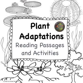 Plant Adaptations Informational Reading Passages and