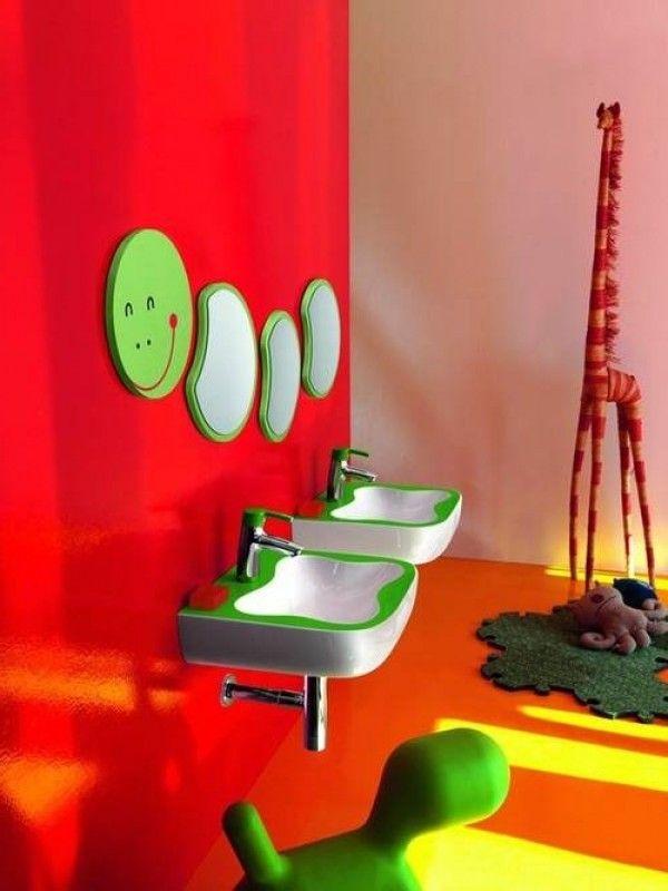 Super Fun Idea For A Kid S Bathroom Dream Home Pinterest