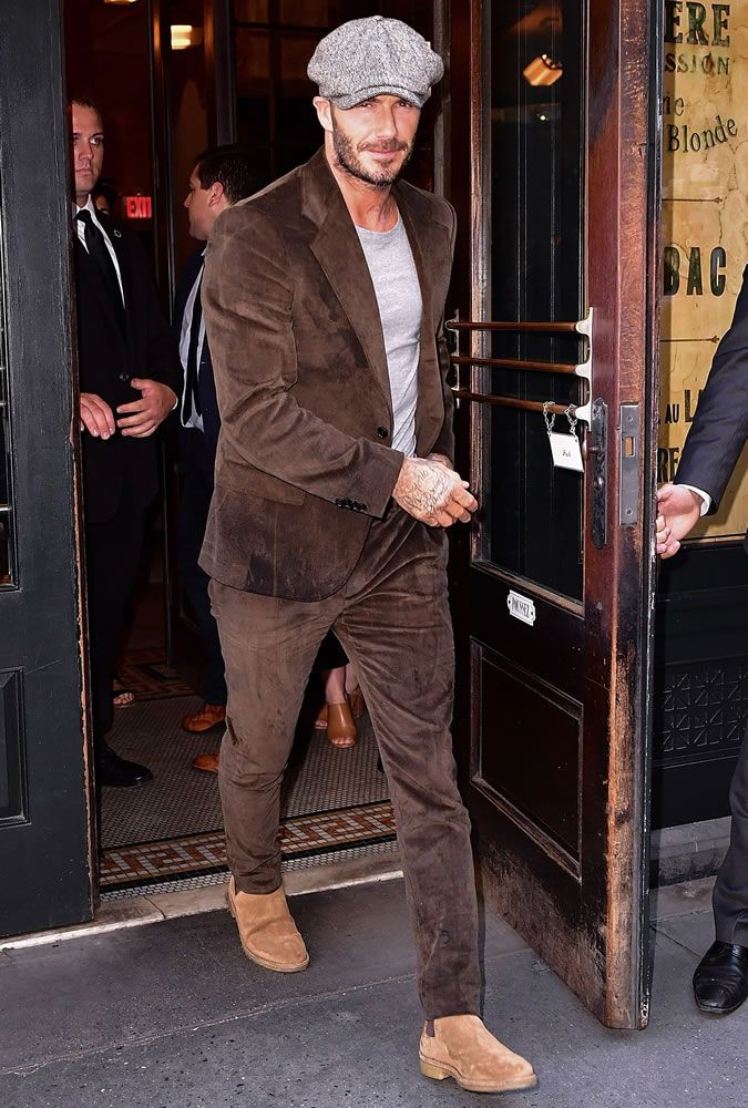 David Beckham Best Street Style Looks Ideas David
