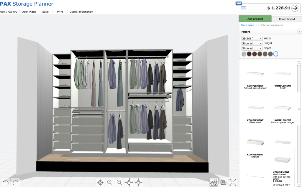 Designing Our Ikea Pax Closet System in 2020 Ikea pax