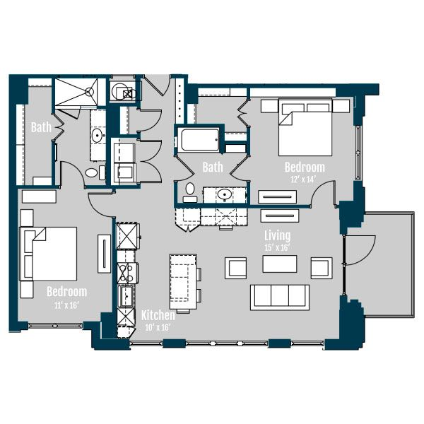 Luxury Apartments & Penthouses In Montrose