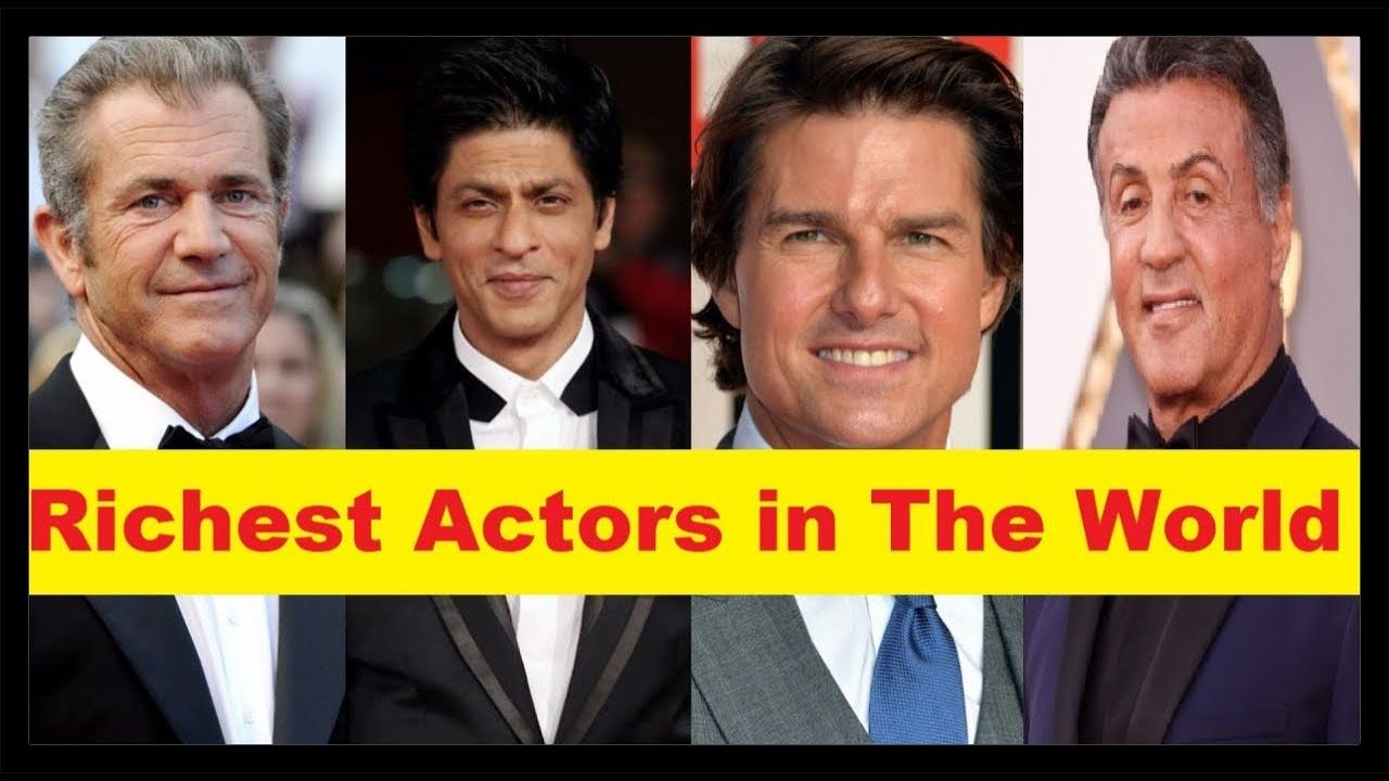 Top 10 Richest Actors in the World 2018 'Richest Celebrities