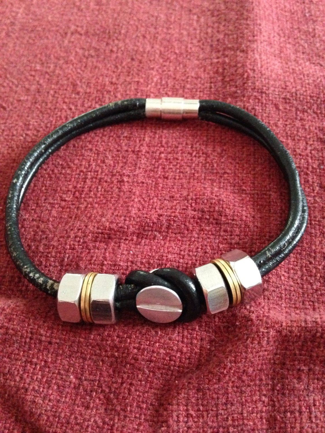 A personal favorite from my Etsy shop https://www.etsy.com/listing/231687461/menswomens-industrial-style-make-a