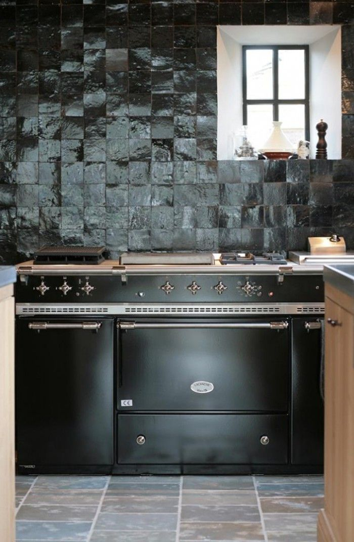 Moroccankitchenblackzeligesvia Kitchens Pinterest Kitchen