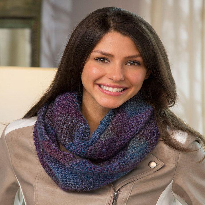 Entrelac Crochet Cowl | Crochet | Pinterest | Crochet, Free pattern ...