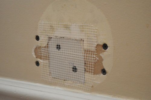 How To Patch A Hole In Your Drywall Diy Home Repair Drywall Repair Home Maintenance