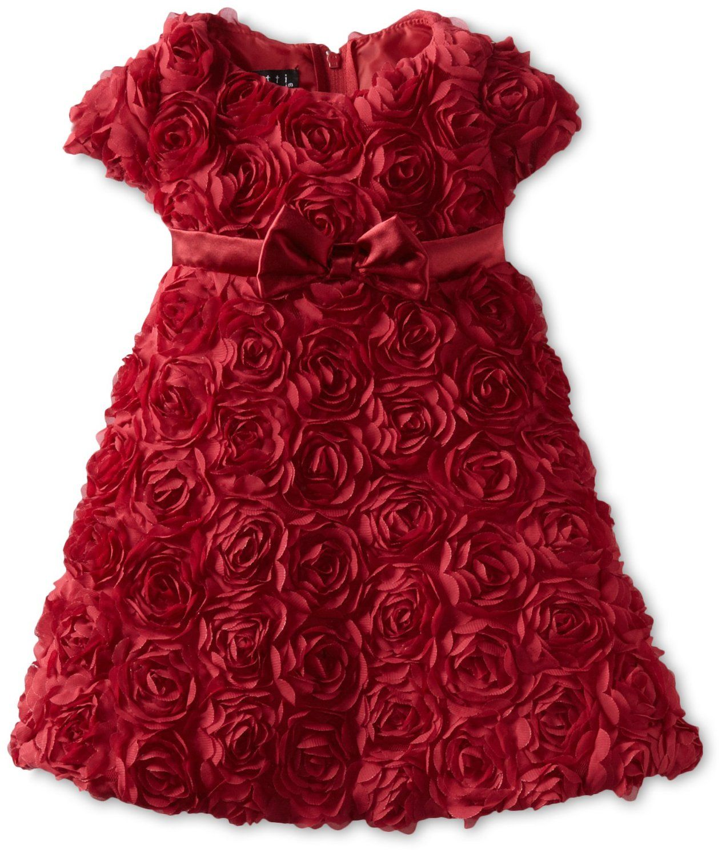 Biscotti babygirls infant standing ovation short sleeve dress