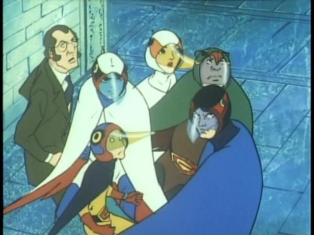 Gatchaman/Battle of the Planets