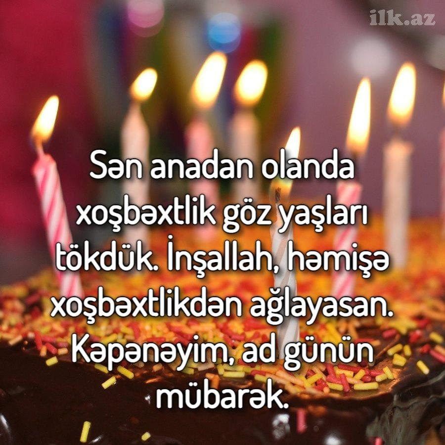 Kəpənəyim Ad Gunun Mubarək In 2021 Birthday Candles Birthday Ads