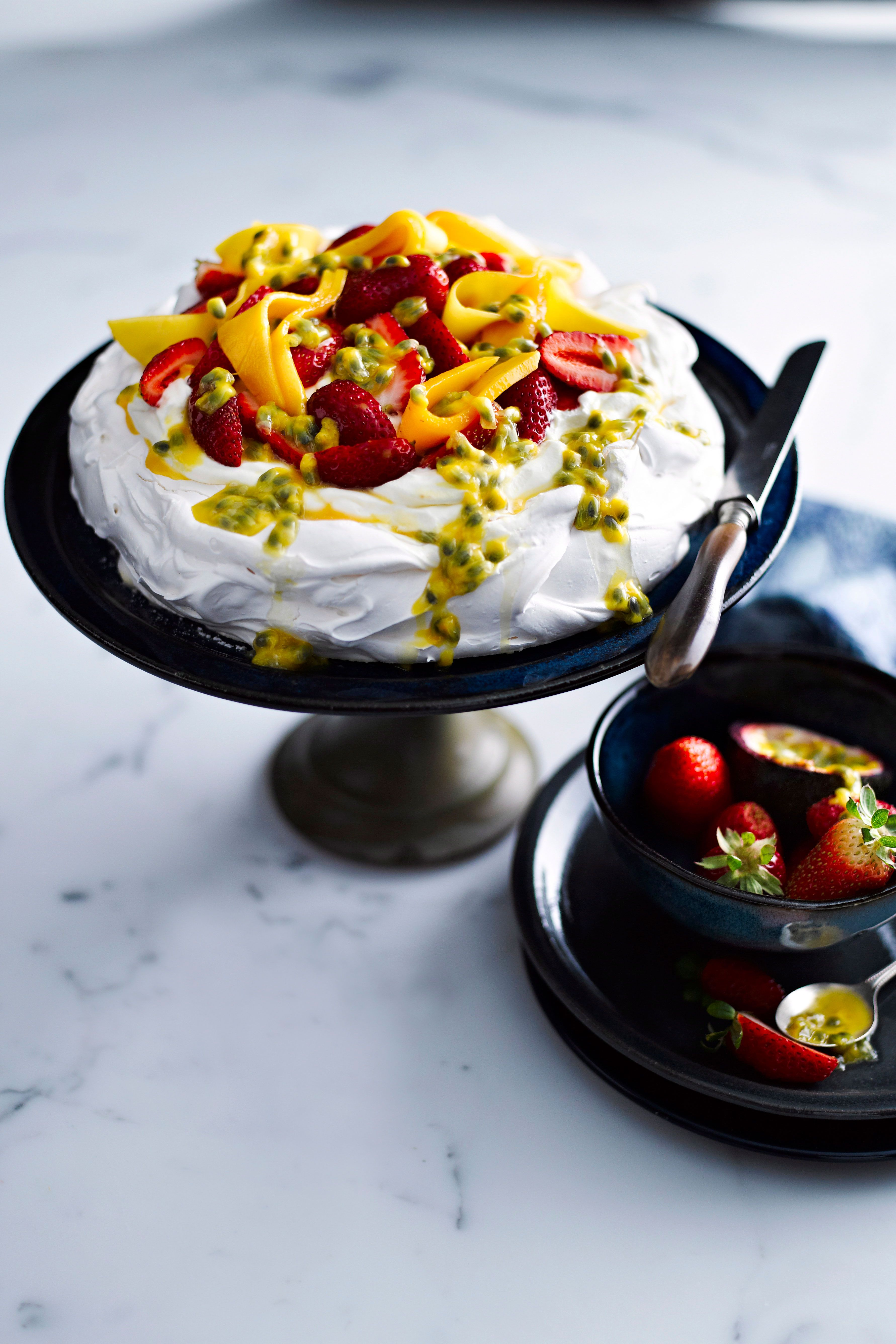 Classic pavlova baked on a plate Recipe in 2020 (With