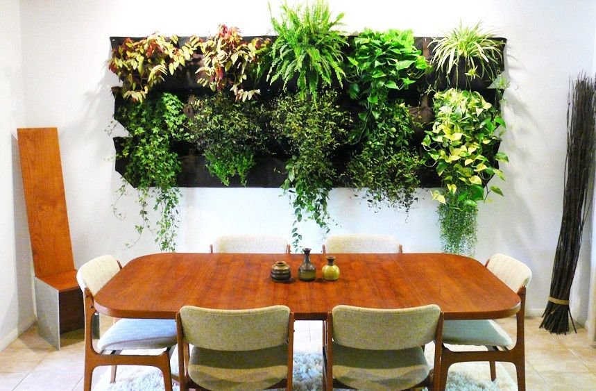 Amazing Indoor Living Wall Planters ~ http://lovelybuilding.com .