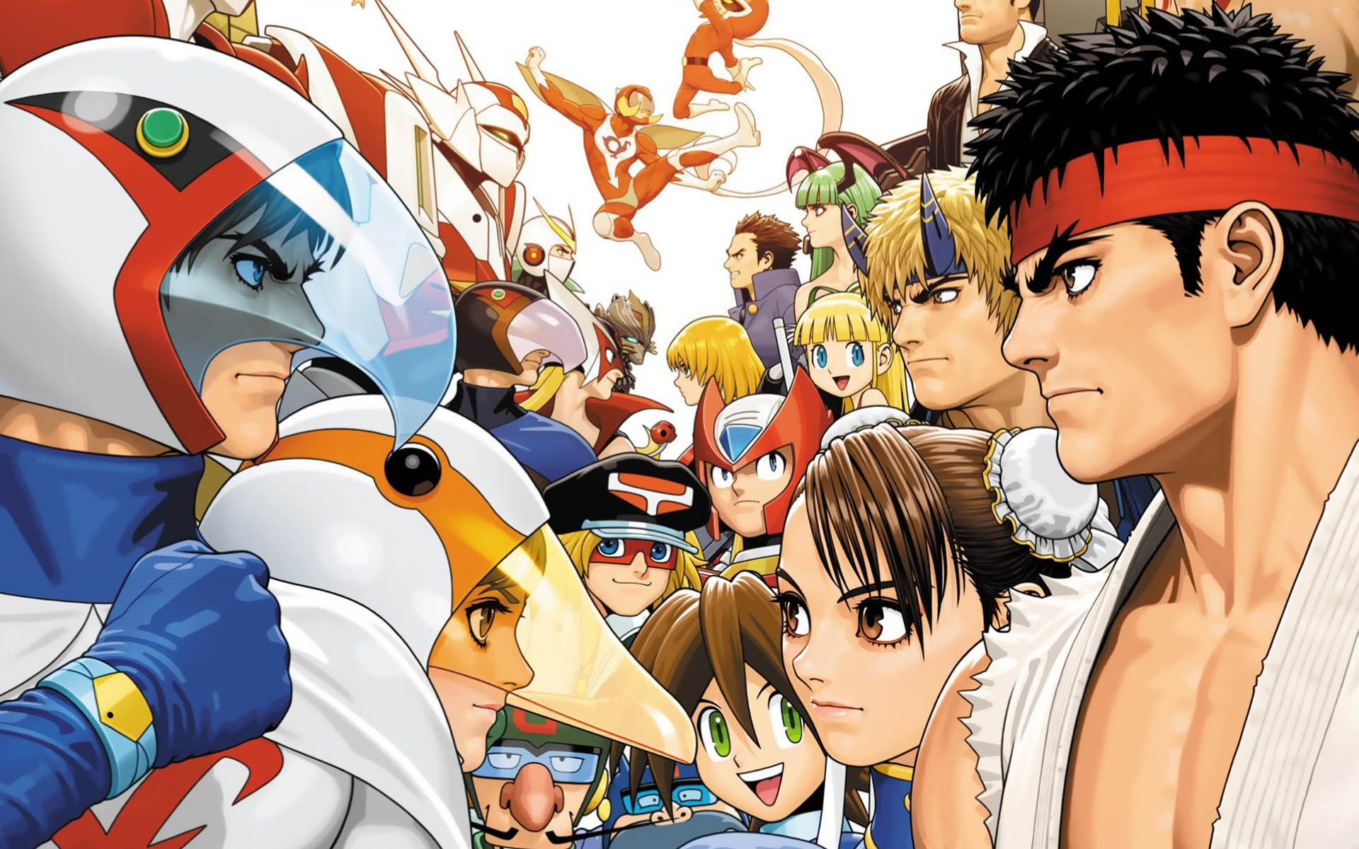 Tatsunoko Vs Capcom Hd Wallpapers High Quality All Hd Wallpapers Capcom Games Marvel Vs Capcom Capcom