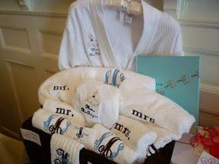 Wedding Gift Basket Honeymoon