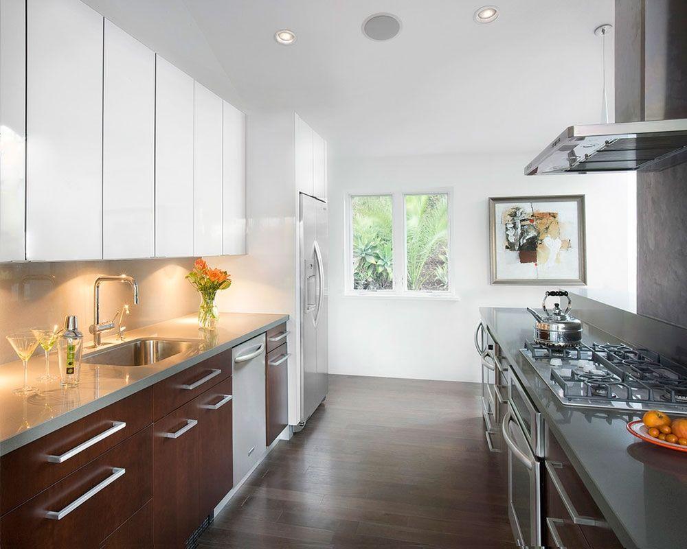 Two Color Kitchen Cabinets | http://sinhvienthienan.net | Pinterest ...