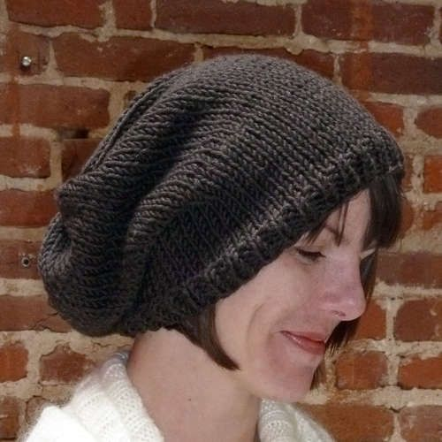 Easy Knit Hat Pattern Knit Hats Knitted Hat Patterns And Circular