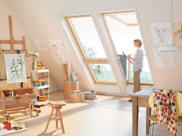 Fenster Dachschräge dachfenster velux attic and room