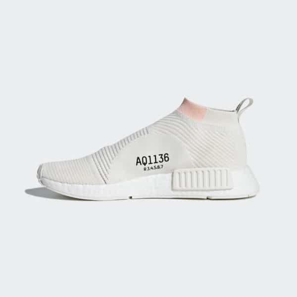 buy popular bb736 39f16 adidas NMD CS1 PK Cloud White   shoes   Adidas nmd, Nmd, Adidas