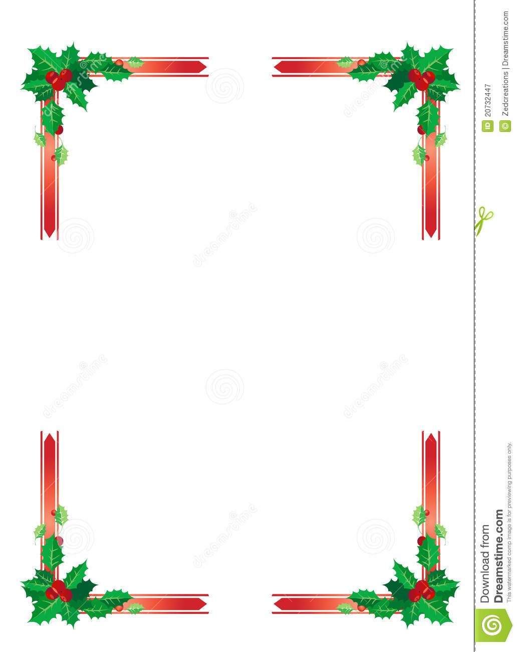 christmas-border-20732447.jpg (1036×1300) | Backgrounds, borders and ...