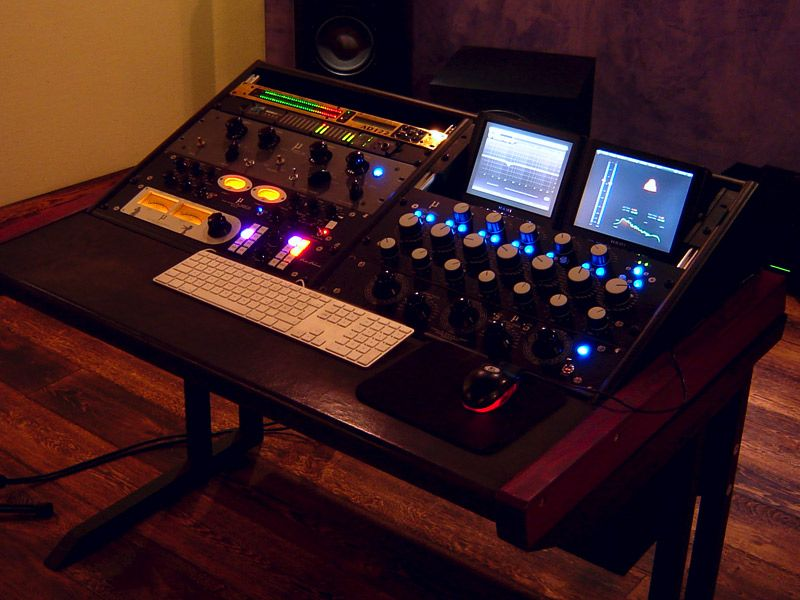 Magnificent Cheap Simple Mastering Desk Idea Gearslutz Com Studio Download Free Architecture Designs Scobabritishbridgeorg