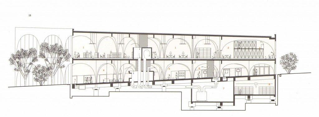 Image on Archisquare • Architettura Design Blog  http://www.archisquare.it/toyo-iyo-biblioteca-delluniversita-per-le-arti-di-tama-tokyo/
