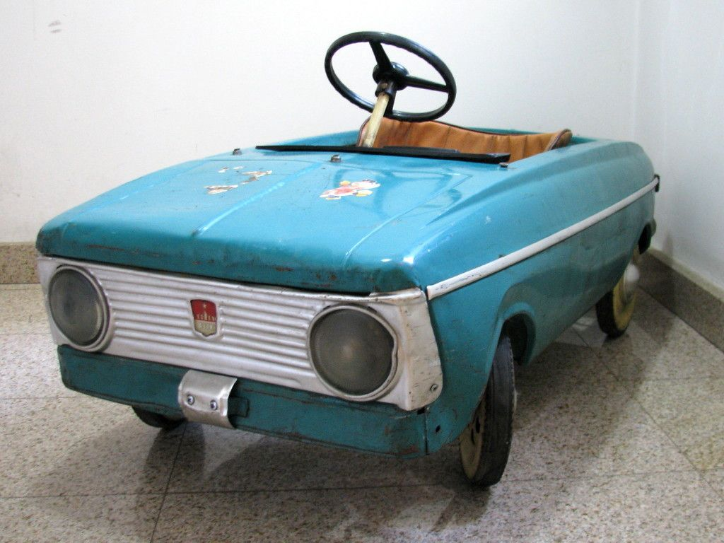 RARE Russian Pedal Car by Moskvich