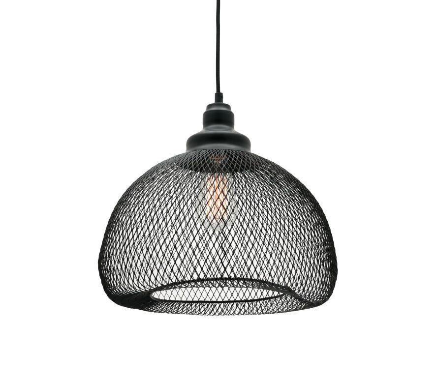 Dustin medium 1 light ceiling pendant black wire mesh mercator dustin medium 1 light ceiling pendant black wire mesh mercator mg9131m 13900 aloadofball Choice Image