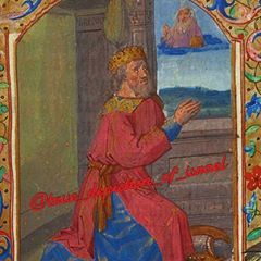 King David Praying to The Most High. Book of Hours, Late France 🇫🇷 King David, Most High, Book Of Hours, History Facts, Brown Skin, Renaissance, Pray, Medieval, Bible