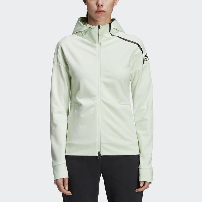 Adidas Z.N.E. Lightweight Women's Hoodie | Aero Green